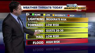 Weather Alert Day Thursday: High risk for flooding - Video