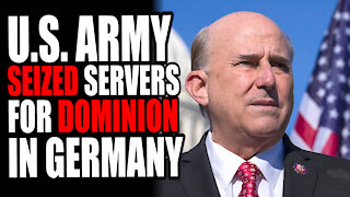 U.S. Army Seized Servers for Dominion in Germany; Louie Gohmert