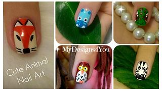 Cute animal nail art: Volume 2 - Video