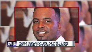 Family pleads for justice in hit-and-run death