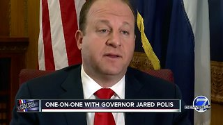 Governor Jared Polis ready tackle kindergarten, health care as he takes office