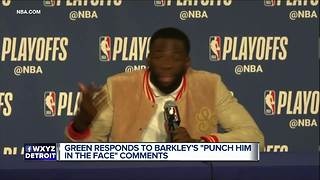 Draymond Green responds to Charles Barkley's comments - Video