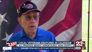 Kern County veterans featured in calendar - Video