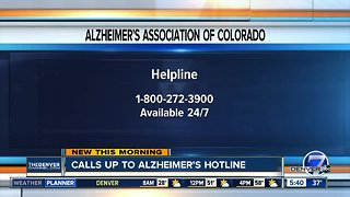 Calls increase to Alzheimer's helpline during holidays