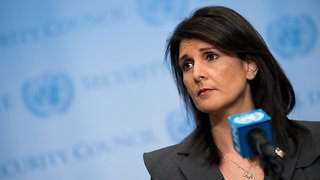 Trump Almost Finished Drafting Peace Plan For Middle East, Haley Says