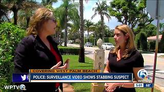 Video released of West Palm Beach stabbing suspect: Police - Video