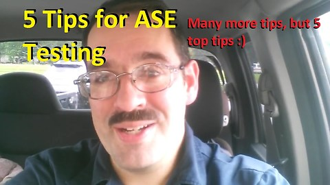 5 Tips for ASE Testing, and My Test Day