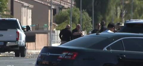 Barricade situation in east Las Vegas