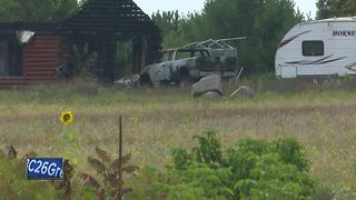 Body of homeowner found inside house fire in Waushara County - Video
