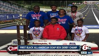 First black all-American soap box derby champ - Video