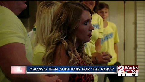 """Owasso teen auditions for """"The Voice"""""""