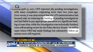Cleveland Police Monitor targets Office of Professional Standards - Video