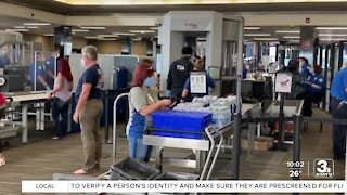 New technology at security checkpoints at Eppley Airfield