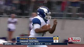 Omaha North vs. Omaha Central 9/1 - Video