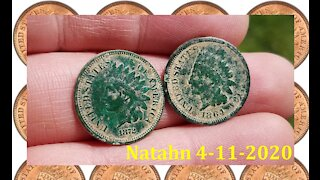 Metal Detecting - Finding a Rare Indian Head Penny