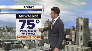 Partly cloudy with pop-up afternoon showers possible - Video