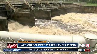 Water levels of Lake Okeechobee rising, discharges possible - Video