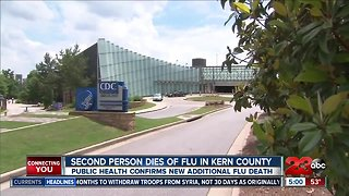 Second flu related death in Kern County