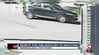 Police search for car involved in shooting - Video
