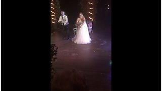 Awesome surprise father-daughter wedding dance - Video