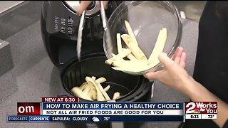 How to make air frying a healthy choice