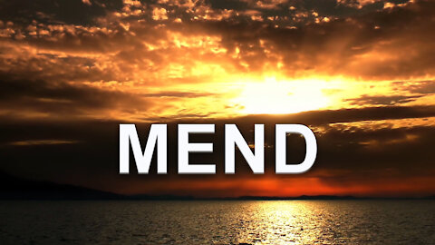 Andy White: MEND (video 2 minutes, 40 seconds)