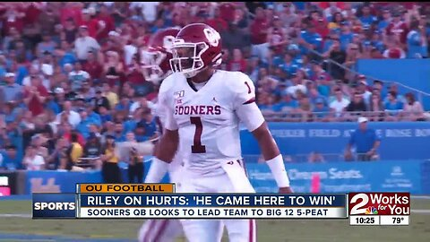 Jalen Hurts focused only on team goals as Oklahoma opens Big 12 play