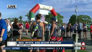 Celebrating the Red, White, and Boom in Cape Coral -- 8am live report - Video
