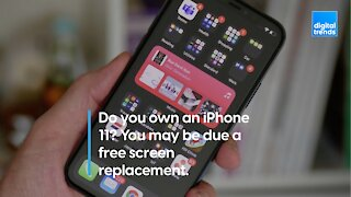 Is your iPhone 11 eligible for a screen replacement?