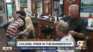 Fort Wright barbershop doesn't cut corners on Dixie pride - Video