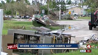 What will happen with all the debris from Hurricane Irma? - Video