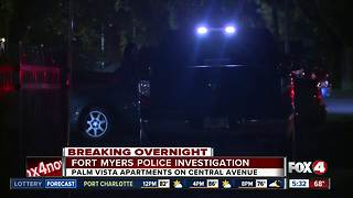 FMPD investigates possible shots fired outside apartment complex - Video