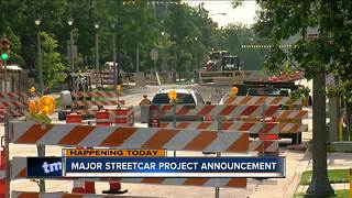 City leaders promise major streetcar announcement Friday - Video