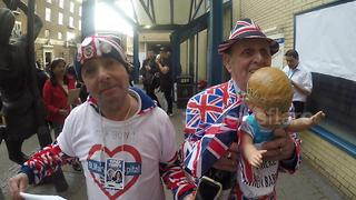 Royal superfans 'delighted' after birth of royal baby - Video