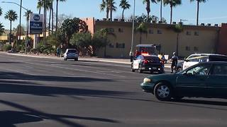 Pedestrian wreck shuts down SB Stone from Speedway to 1st St. - Video