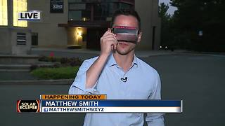 How you can protect your eyes during the total solar eclipse - Video