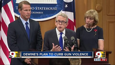 Gov. Mike DeWine proposes 17 actions to prevent gun violence in Ohio