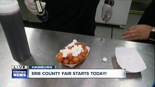 Try new 2018 foods at the Erie County Fair