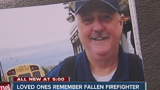 Family of fallen McCordsville volunteer firefighter say he died doing what he loved - helping others - Video