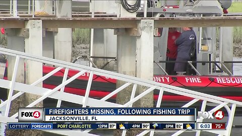 Firefighters missing after fishing trip