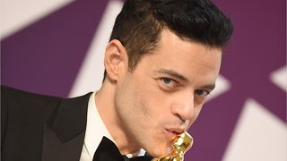 Rami Malek Fell Off The Oscars Stage After Winning Best Actor