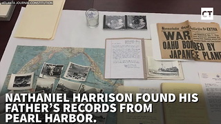 Man Finds Dad's Briefcase, Uncovers Pearl Harbor Treasure - Video