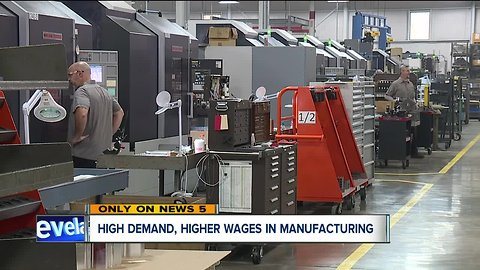 Cleveland manufacturing companies can't find enough younger workers to replace retirees