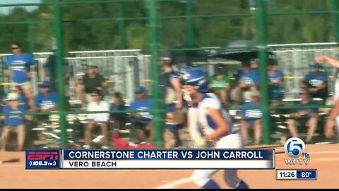 John Carroll softball is headed back to state championship game 5/21