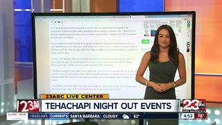 Tehachapi 'Night Out' Events - Video