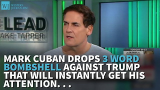Mark Cuban Thinks President Trump Has 'No Leadership Skills' - Video