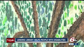 Lending library for people with disabilities launches - Video