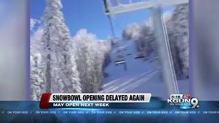 Snowbowl delays opening thanks to warm weather - Video