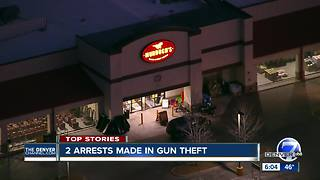 Federal officials say 13 AR-15s stolen from Murdoch's in Littleton, 2 people arrested - Video