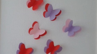 How to make paper butterflies DIY - Video
